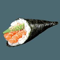 Temaki saumon avocat
