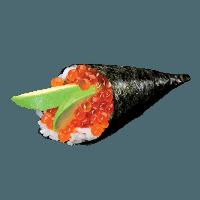 Temaki oeufs de saumon