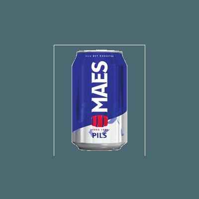Bière Maes 33cl cannette