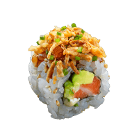Crispsy salmon