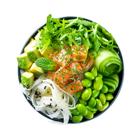 Green Poke Bowl