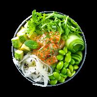 green-poke-bowl