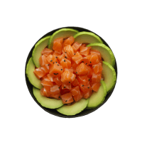 Small bowl saumon avocat